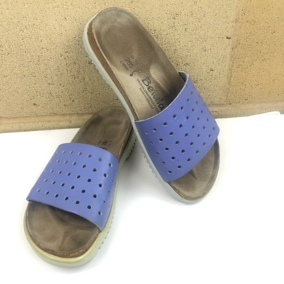Birkenstock Shoes - BETULA by Birkenstock Slides Perforated Sz 10 (#08